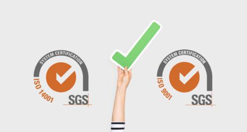 Renovación ISO 9001 y 14001